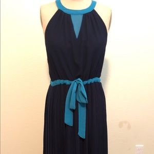 BCBG maxi dress. Halter neckline. Great condition